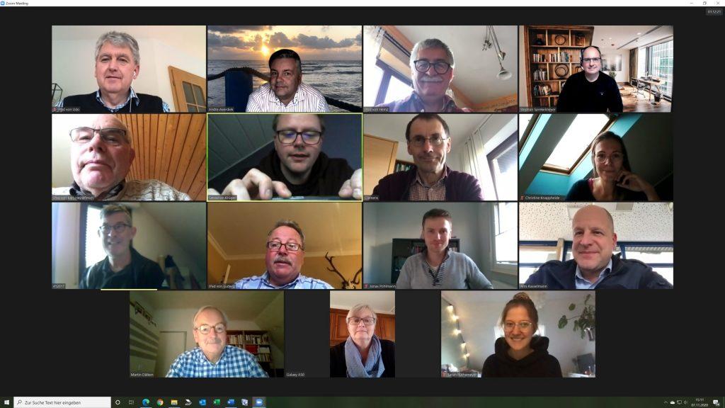 Erstes virtuelles Treffen der CDU-Fraktion Georgsmarienhütte mit Martin Bäumer MdL