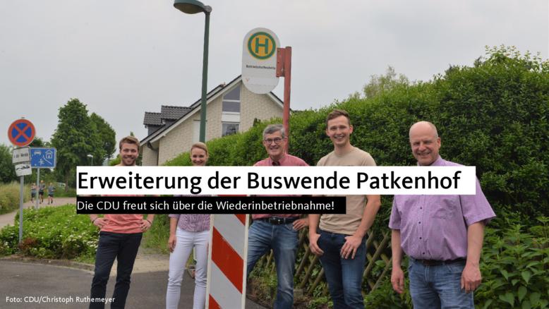 Erweiterung der Buswende Patkenhof