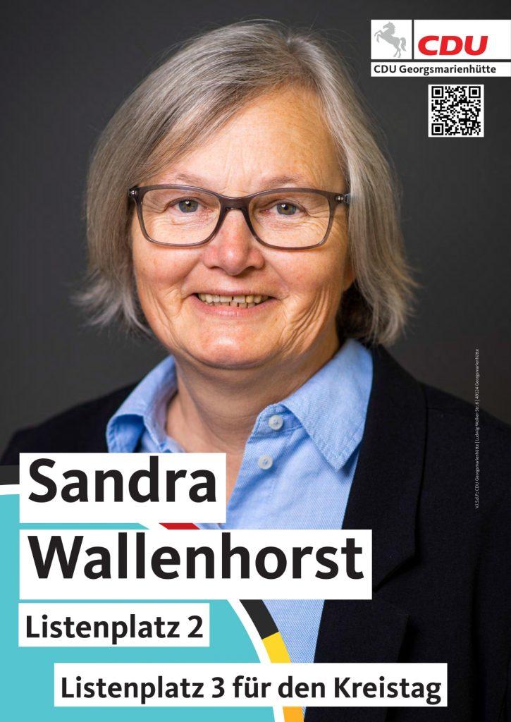 Vorstellung Sandra Wallenhorst