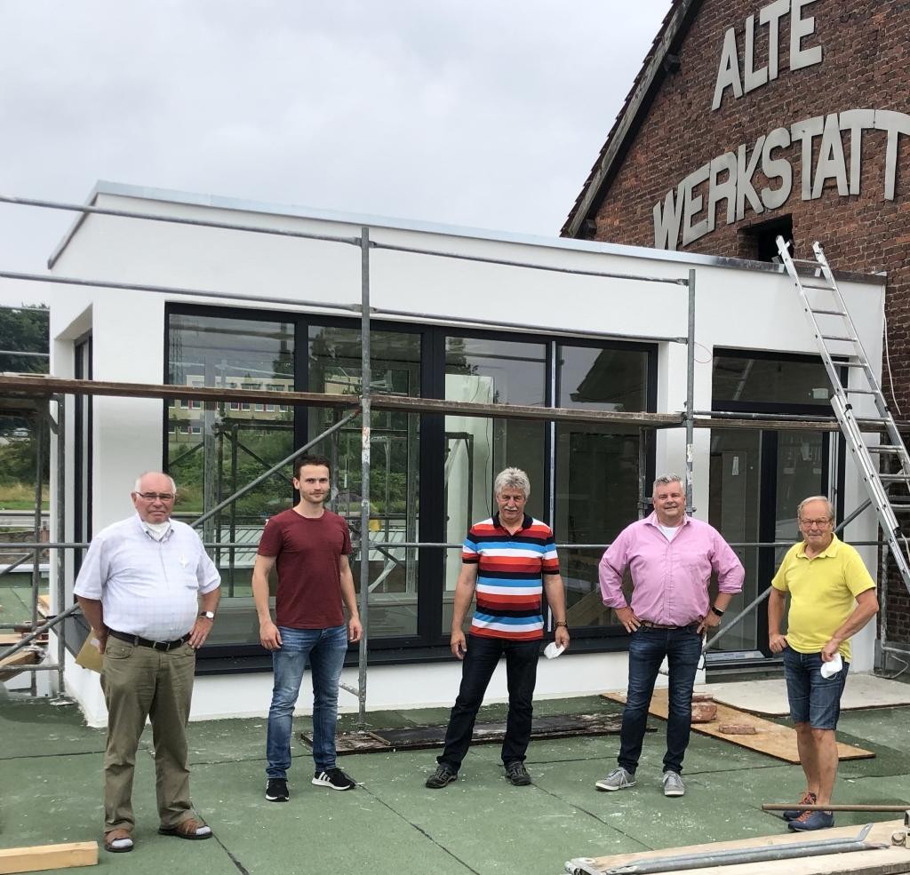Besuch der Bildungswerkstatt – Neubau