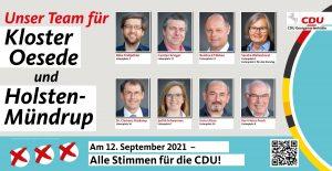 Unser Team für Kloster Oesede und Holsten-Mündrup