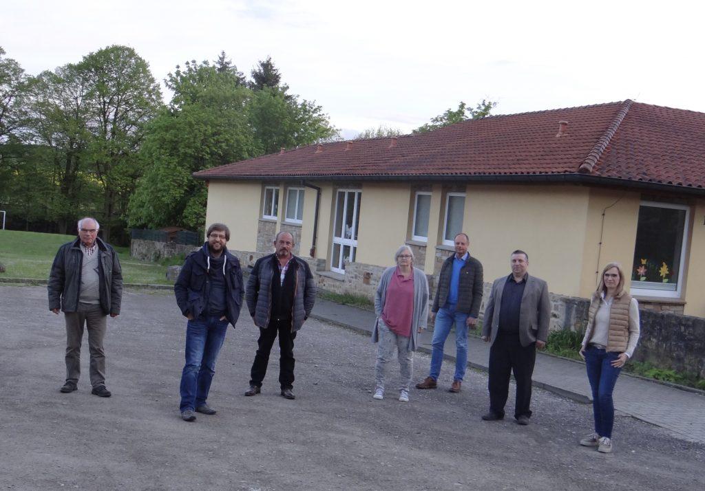 Neuer Parkplatz am neuen Krippenhaus in Kloster Oesede