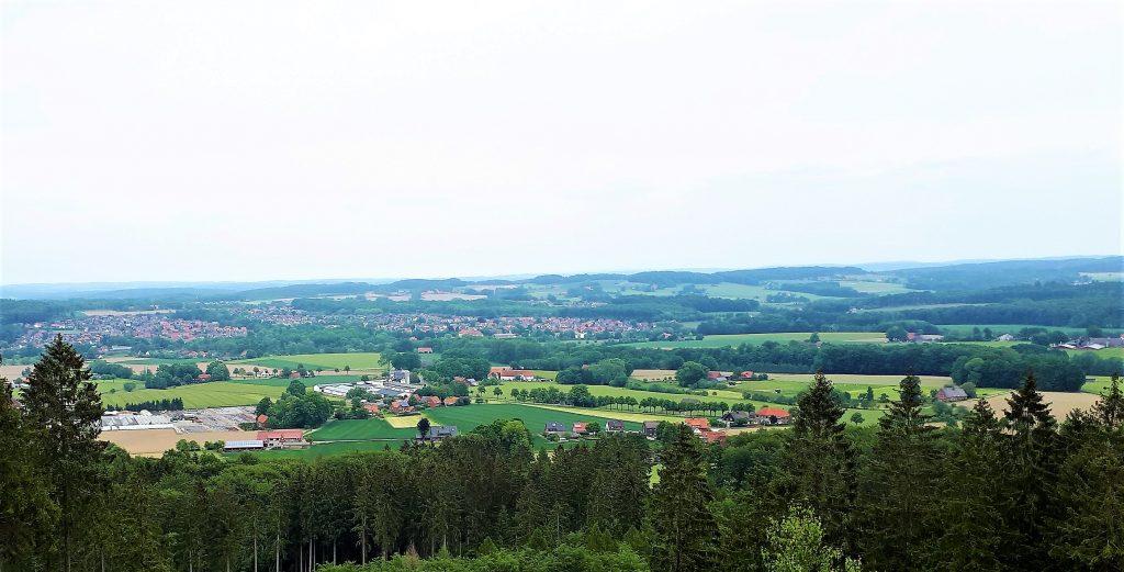 Kloster Oesede vom Musenberg